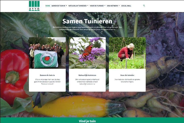 Vernieuwde website AVVN